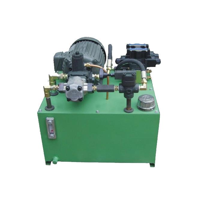 Small hydraulic station