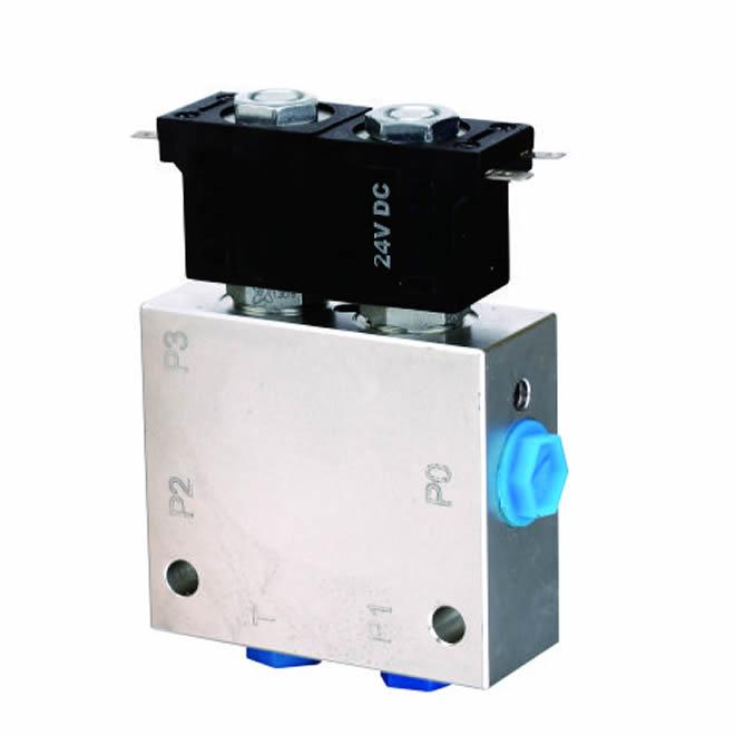 Hydraulic valve set design