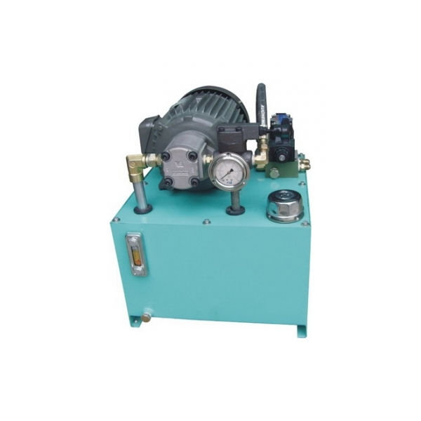 Machine tool hydraulic station