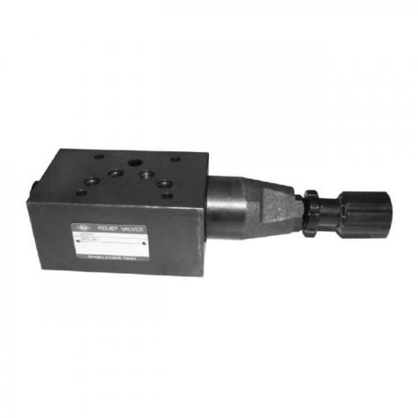 Superimposed pressure relief valve