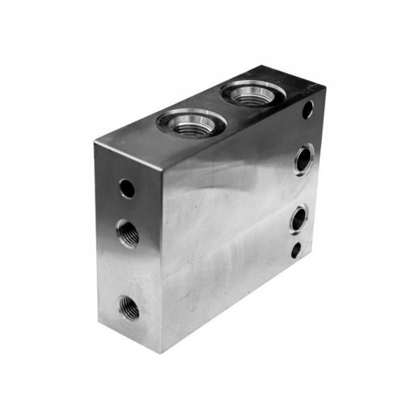 Back coal machine hydraulic valve set