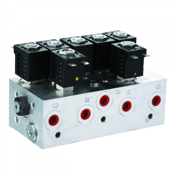 Hydraulic valve group agent