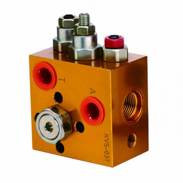 Hydraulic valve set drawing