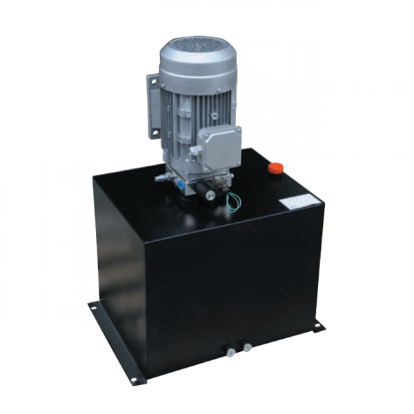 Direct selling lifting platform power unit