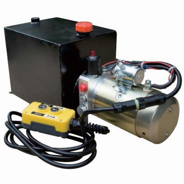 Dump trailer power unit manufacturer